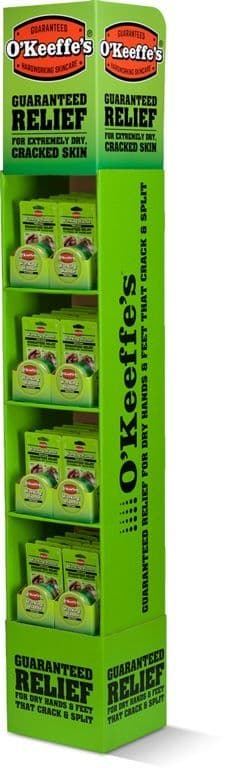 O'Keeffe's Working Hands Display Unit - Deal 1